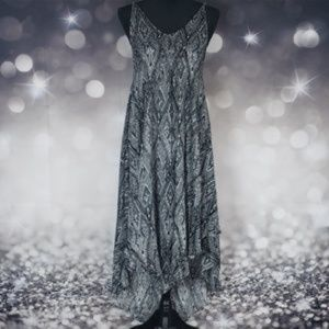 Free People Knot For You Raven Slip Dress Sz S NWT